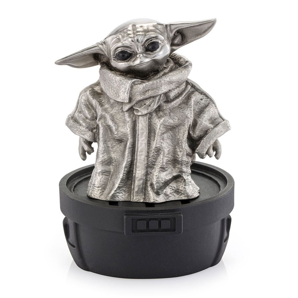 Star Wars The Mandalorian Pewter Collectible Statue Grogu Limited Edition 6 cm