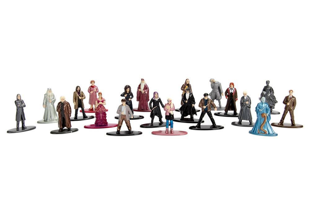 Harry Potter Nano Metalfigs Diecast Mini Figures 20-Pack Wave 2 4 cm