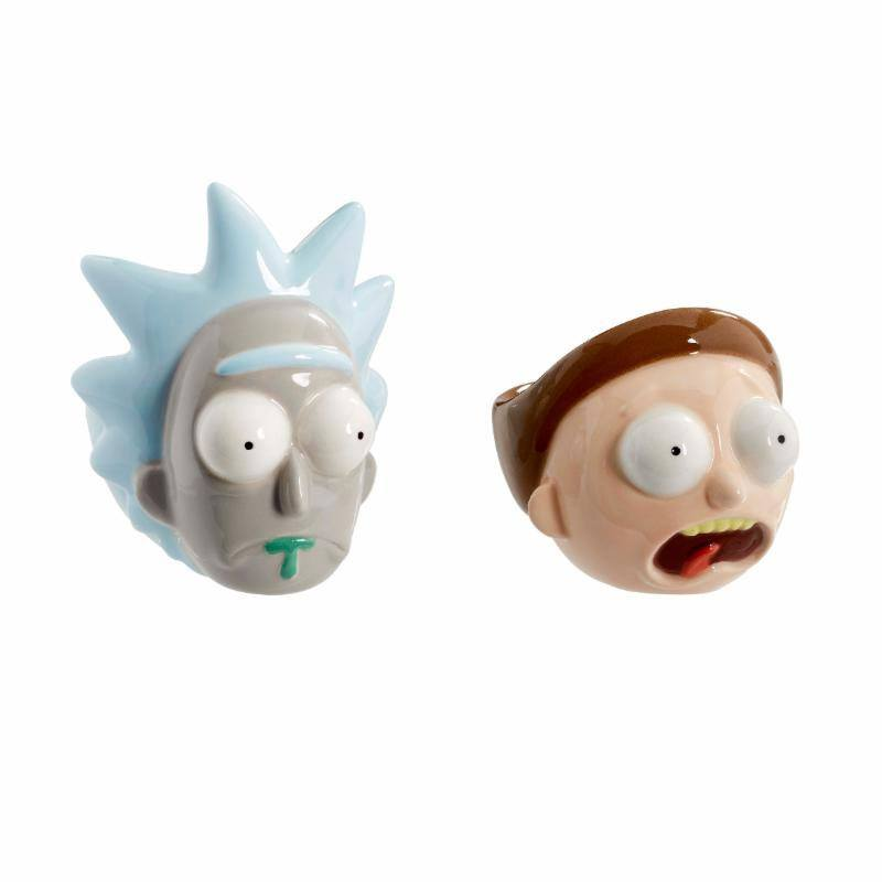 Rick & Morty Egg Cup 2 Pack Rick & Morty