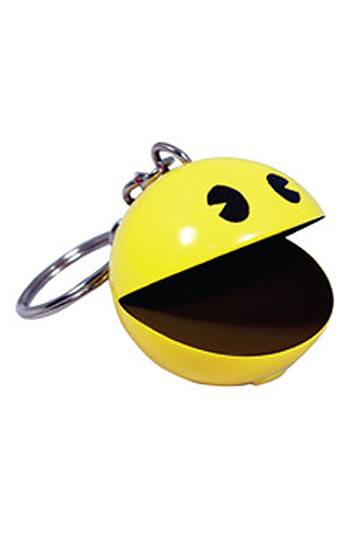 Pac-Man Keychain with Sound