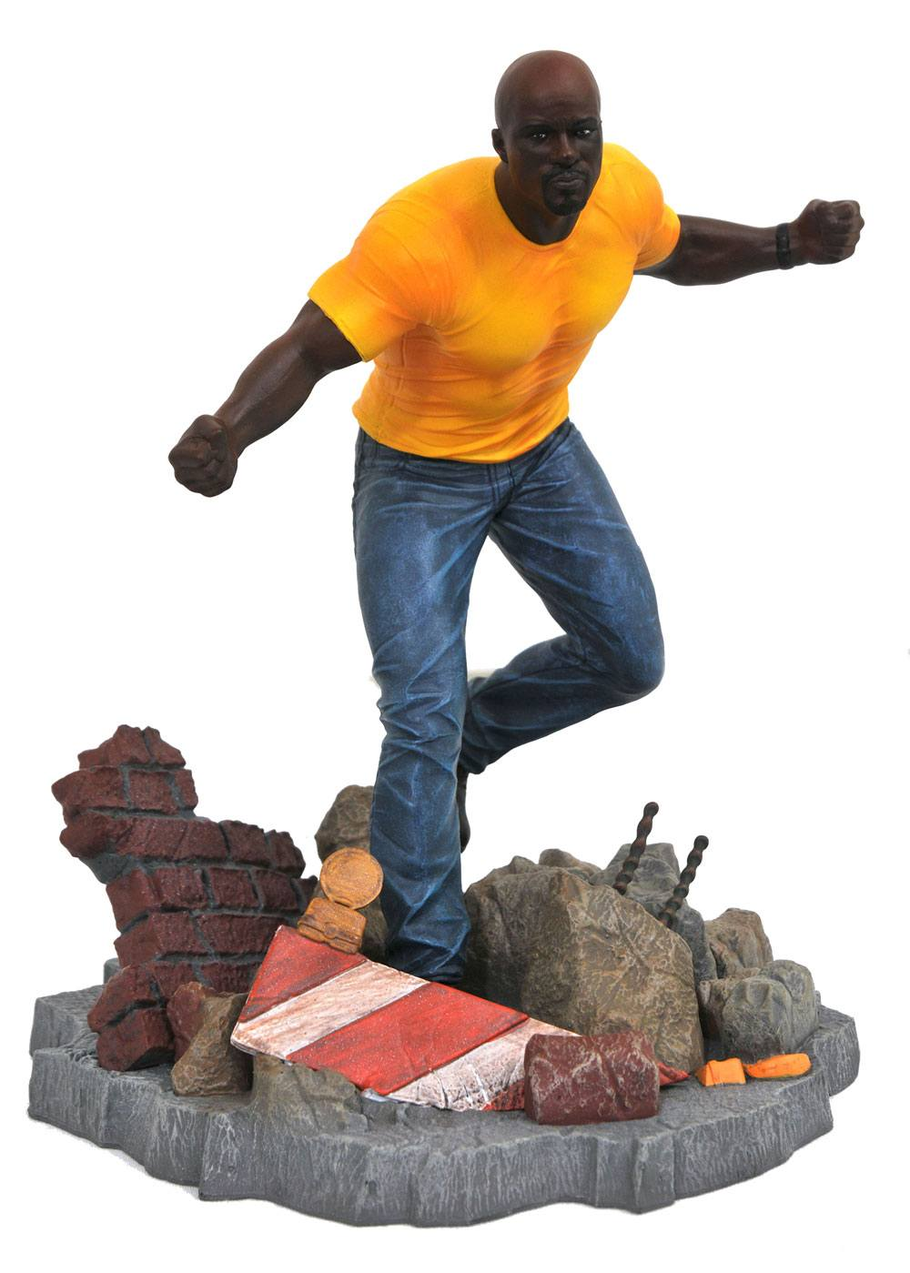 The Defenders Marvel TV Gallery PVC Statue Luke Cage 23 cm