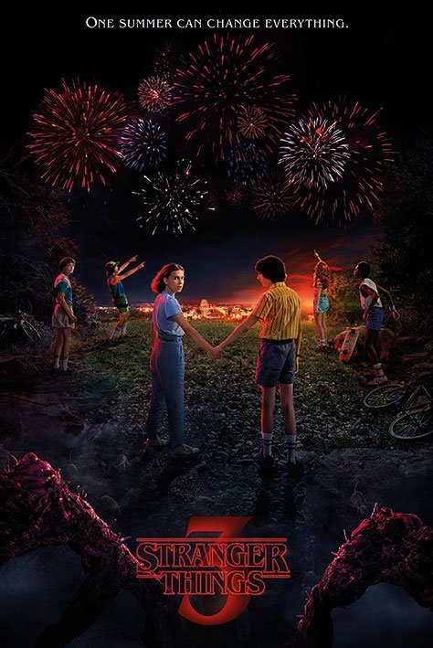 Stranger Things Poster Pack One Summer 61 x 91 cm (5)