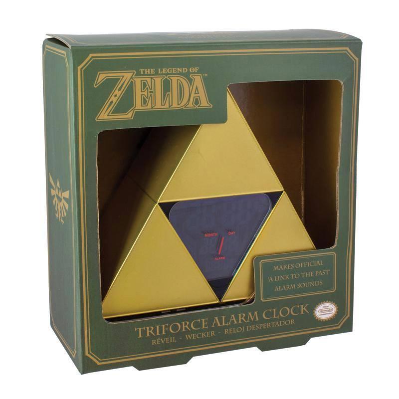 The Legend of Zelda Alarm Clock Triforce