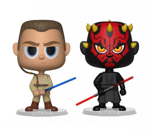 Star Wars VYNL Vinyl Figures 2-Pack Darth Maul & Obi Wan 10 cm