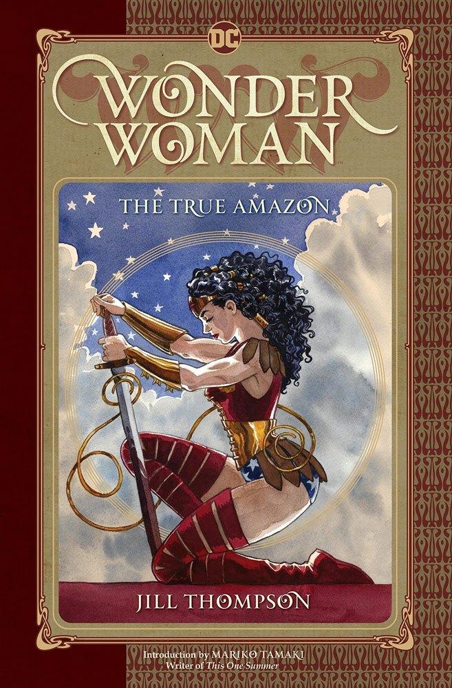 DC Comics Comic Book Wonder Woman The True Amazon by Jill Thompson english