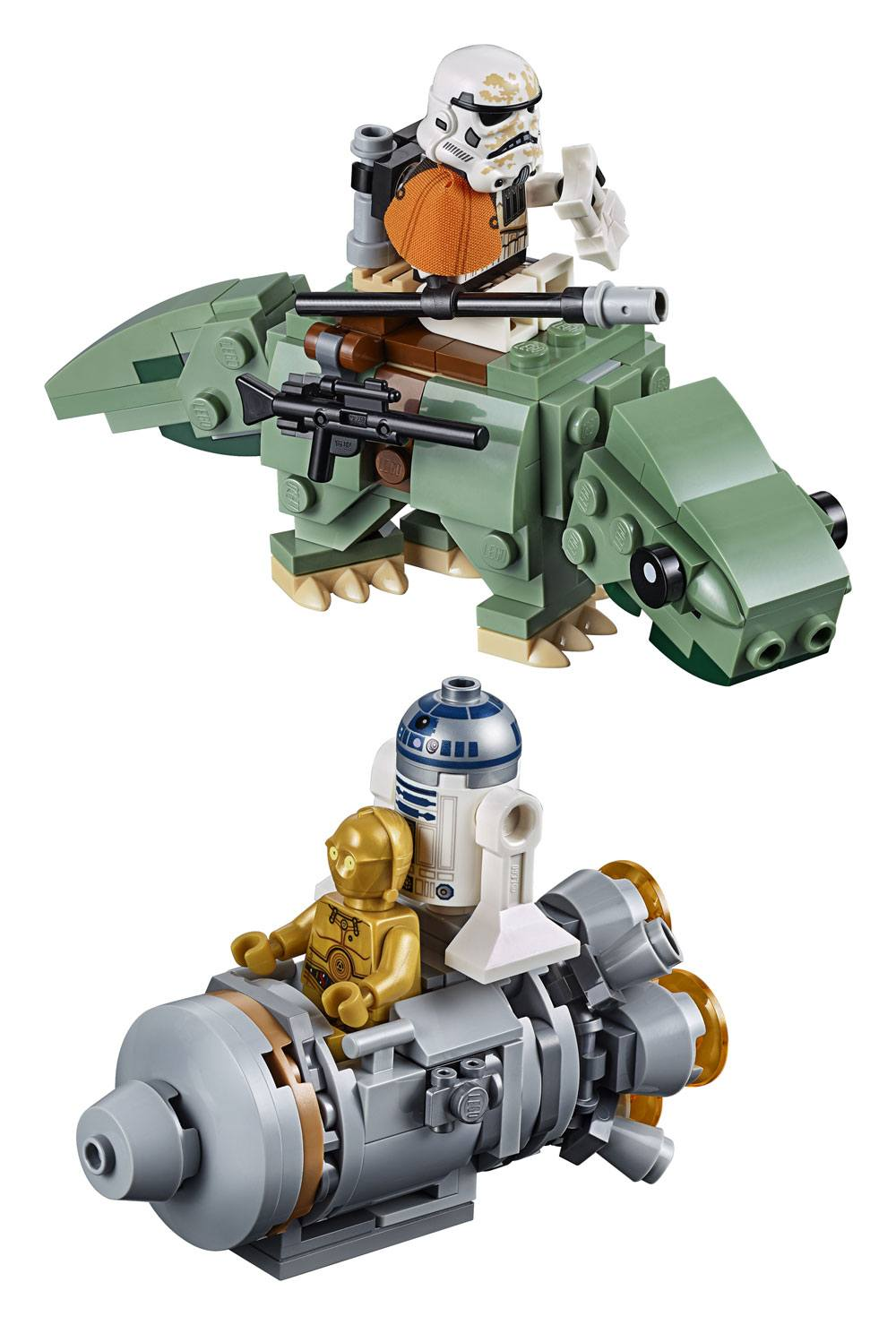 LEGO® Star Wars™ Microfighters Series 6 - Escape Pod vs. Dewback™ --- DAMAGED PACKAGING