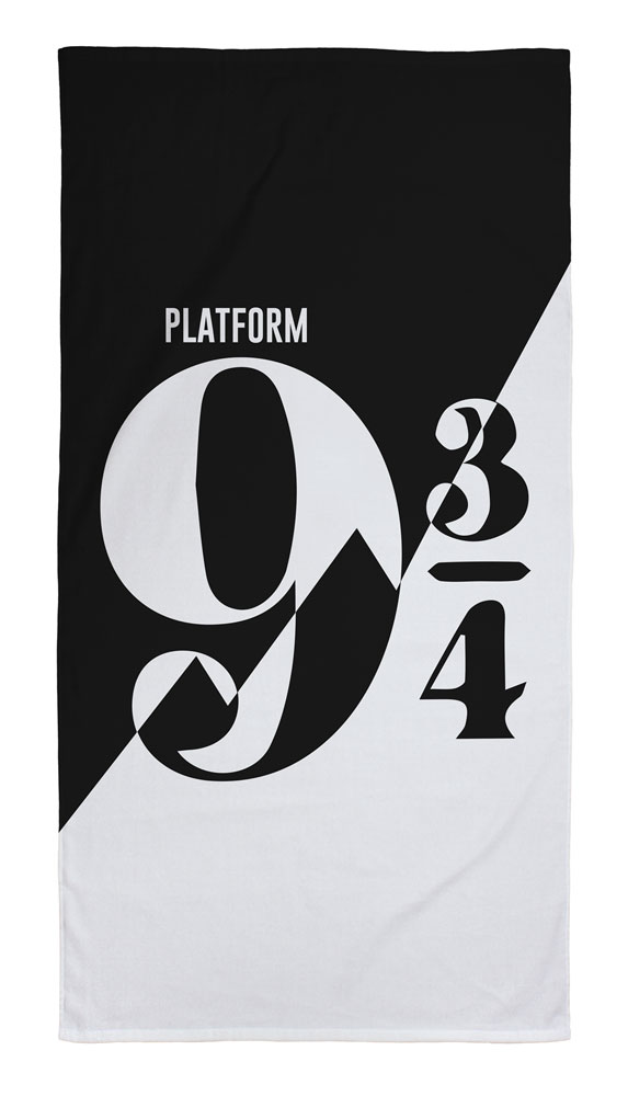 Harry Potter Towel Platform 9 3/4 140 x 70 cm