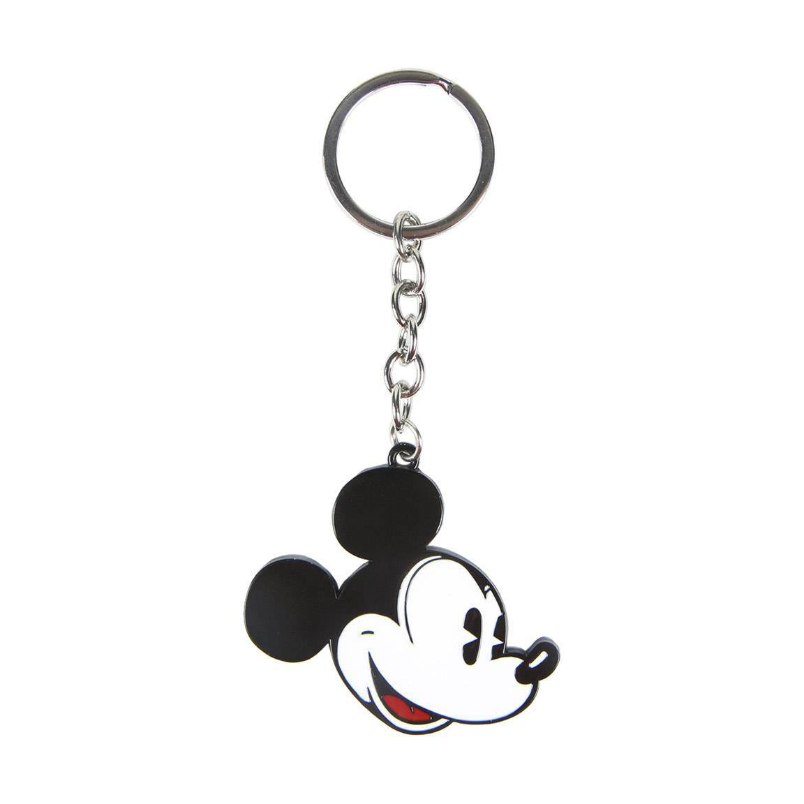 Disney Metal Keychain Mickey Mouse Face
