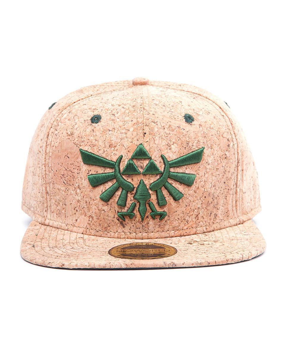 The Legend of Zelda Snap Back Cap Triforce Logo Cork