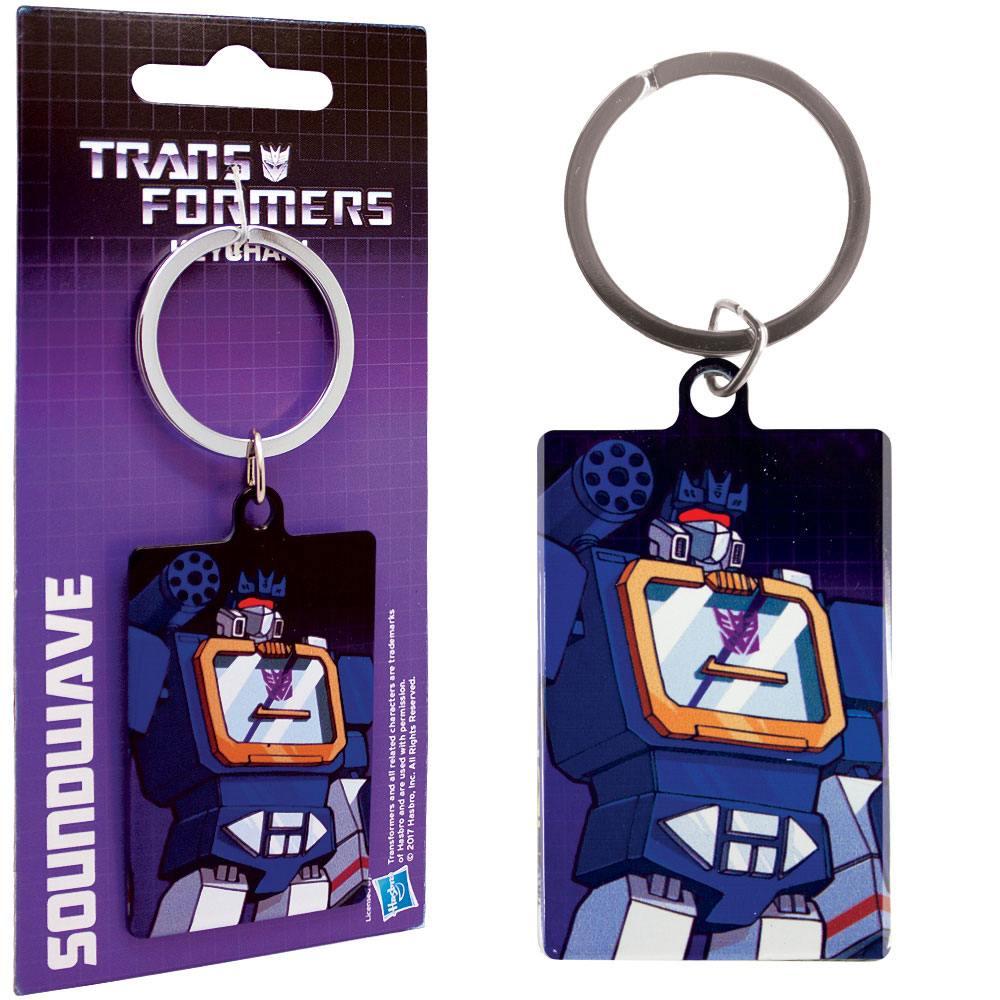 Transformers Metal Keychain Soundwave 6 cm