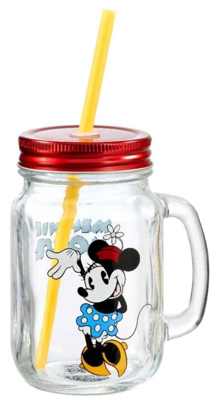 Disney Mason Jar Glass Minnie