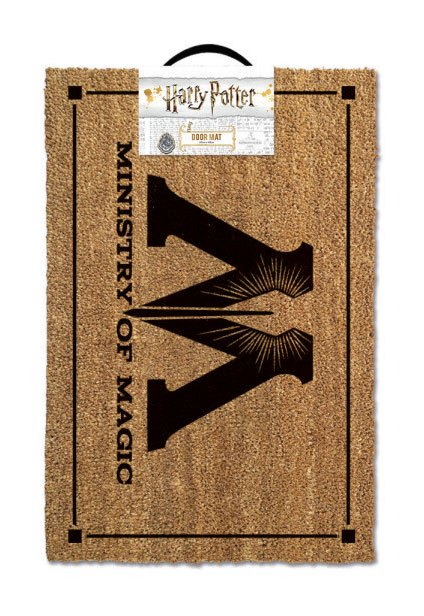 Harry Potter Doormat Ministry of Magic 40 x 60 cm