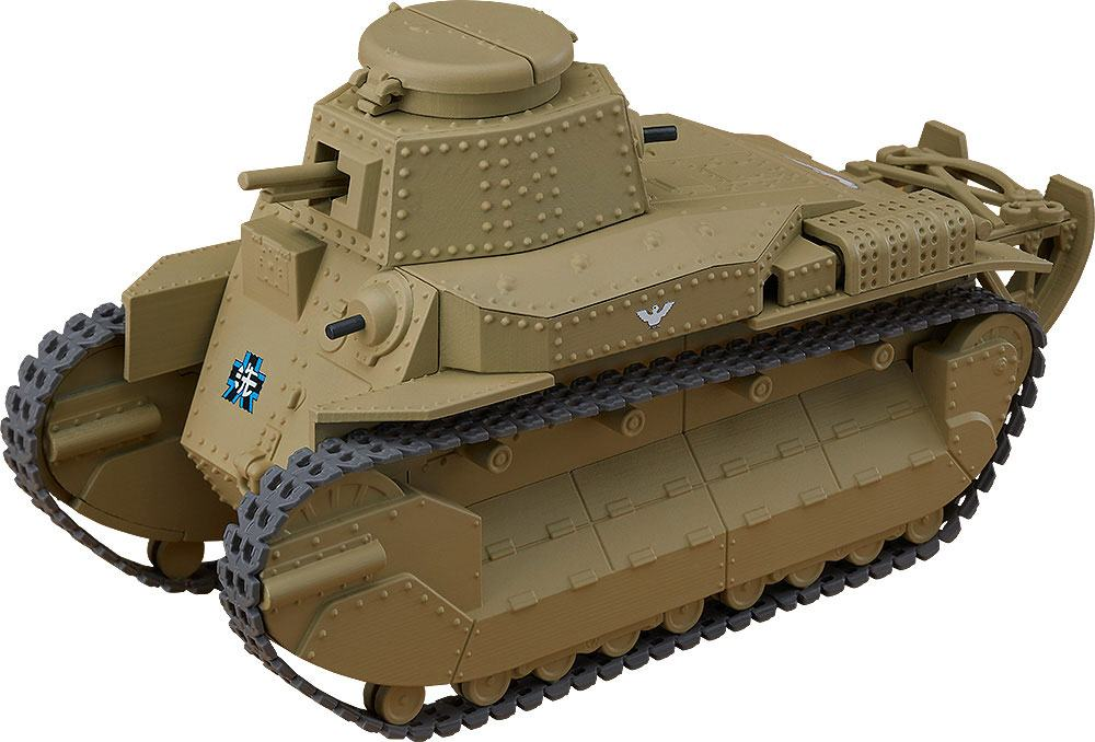 Girls und Panzer das Finale Nendoroid More Vehicle Type 89 I-Go Kou 15 cm