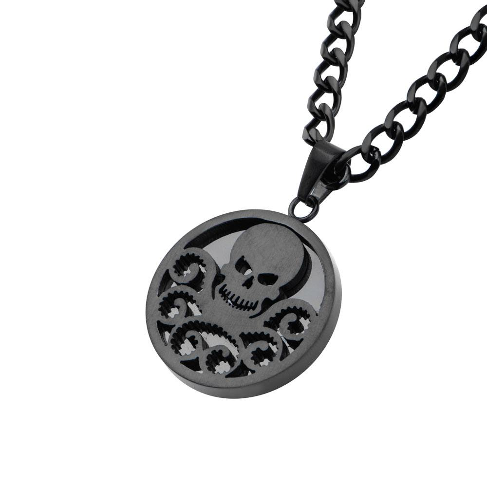 Marvel Stainless Steel Pendant with Chain Hydra