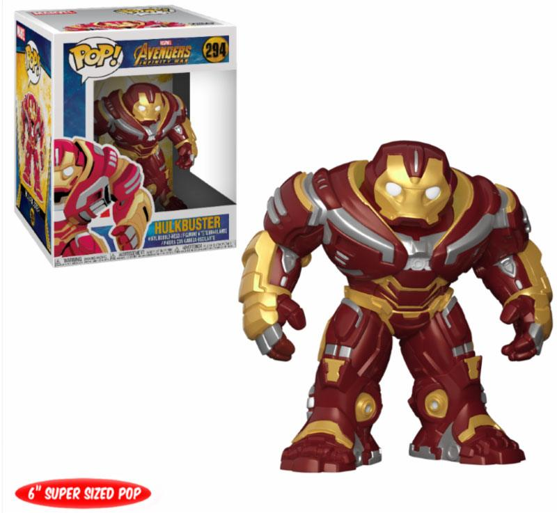 Avengers Infinity War Super Sized POP! Movies Vinyl Figure Hulkbuster 15 cm