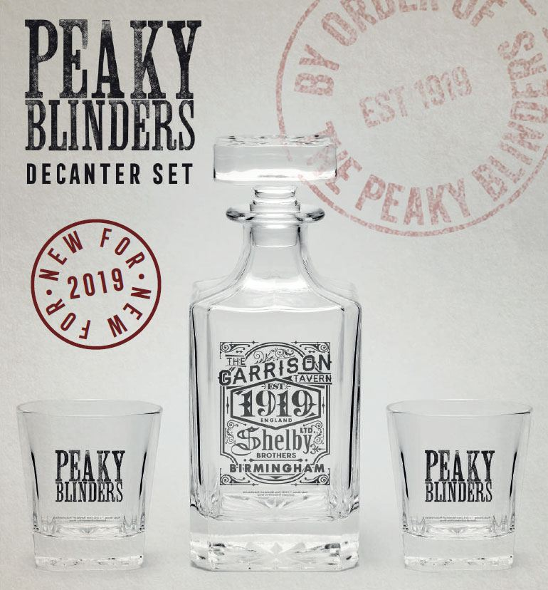 Peaky Blinders Decanter Set