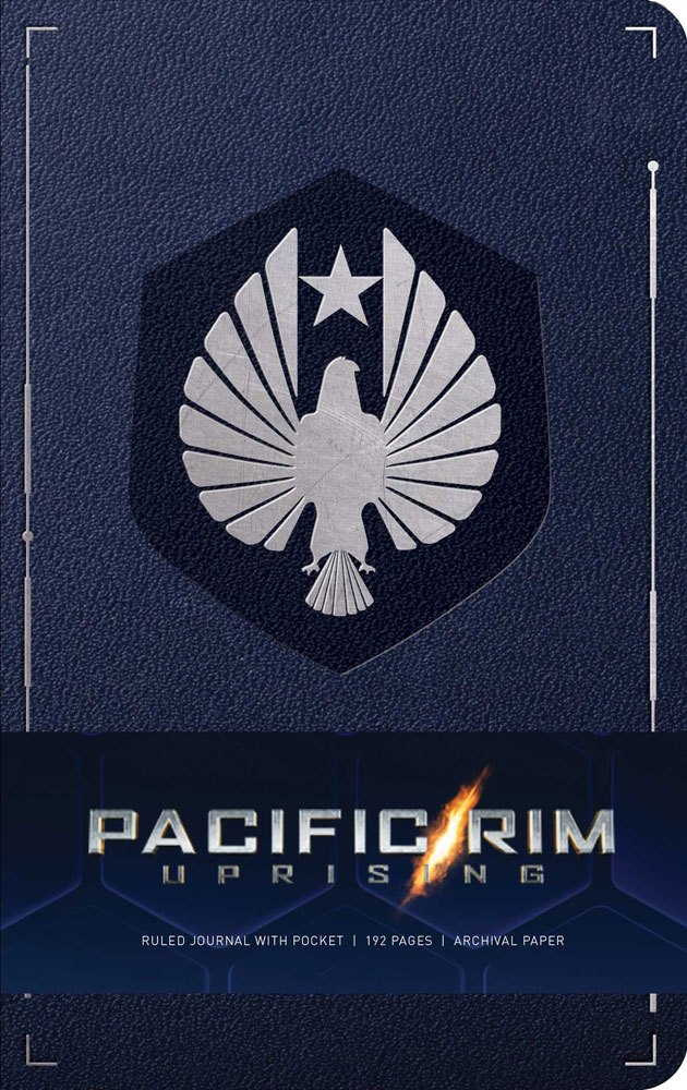 Pacific Rim Uprising Hardcover Ruled Journal Logo