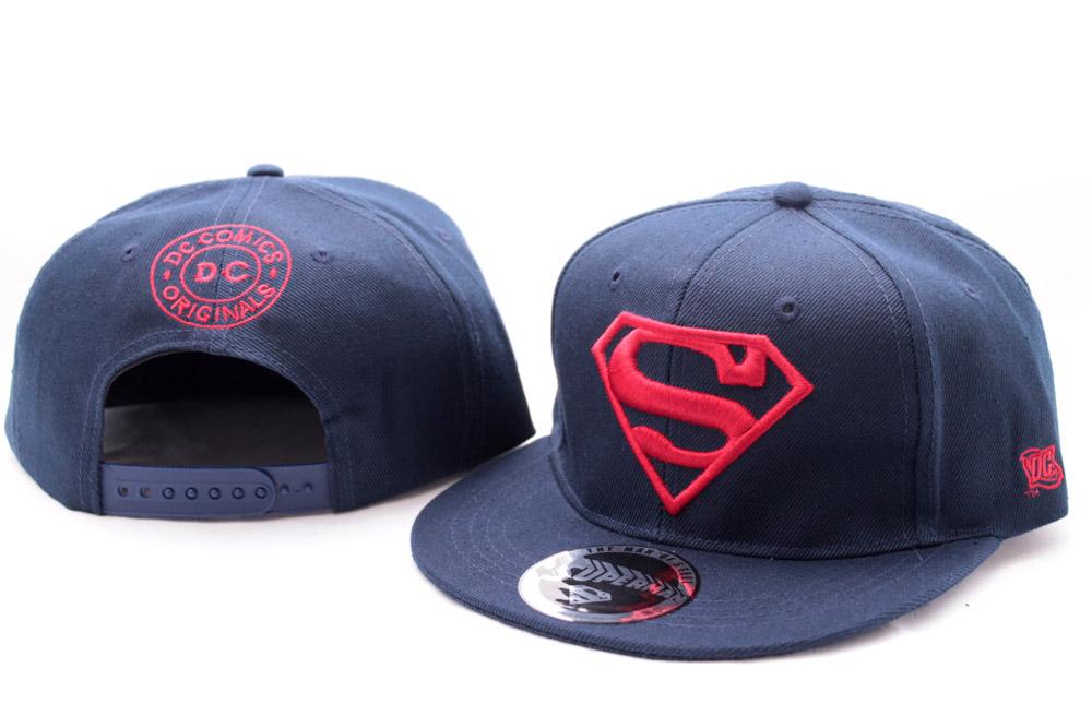 Superman Adjustable Cap Red Logo