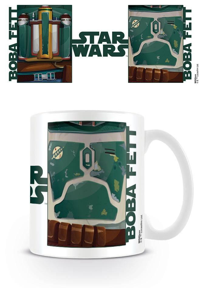 Star Wars Mug Boba Fett Torso