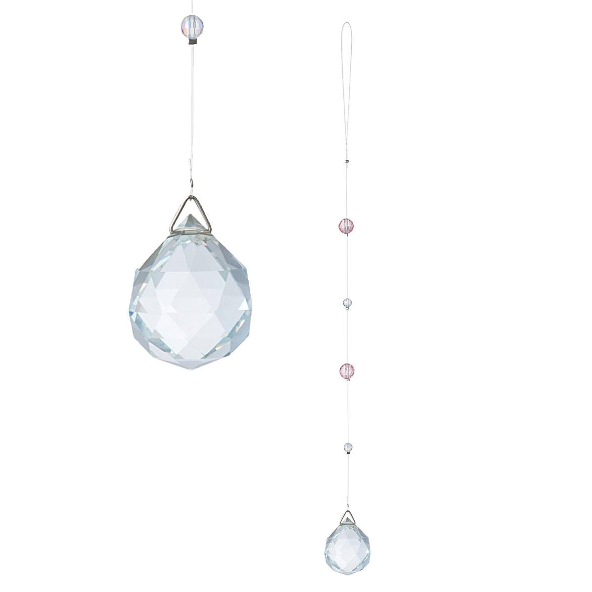 Sailor Moon Crystal Suncatcher Version B Usagi's Silver Crystal 4 cm