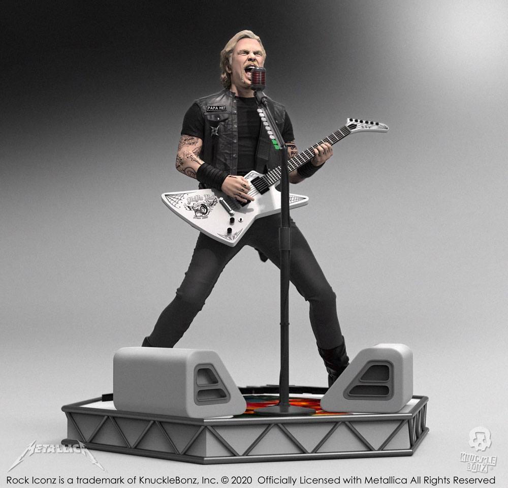 Metallica Rock Iconz Statue James Hetfield Limited Edition 22 cm