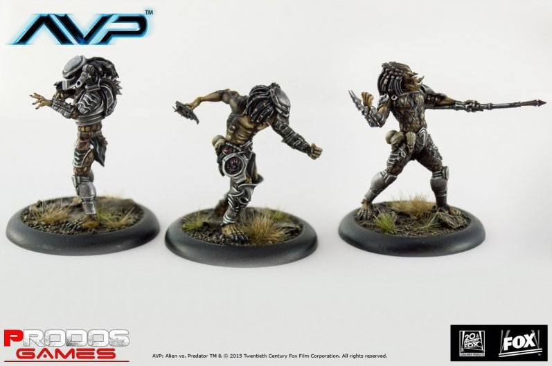 Alien Vs Predator Board Game The Hunt Begins Expansion Pack Predators *English Version*