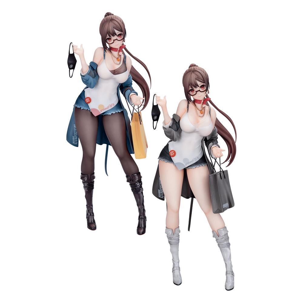 Original Character PVC Statues 1/7 Xiami 4th Anniversary At First Sight Special Set 25 cm