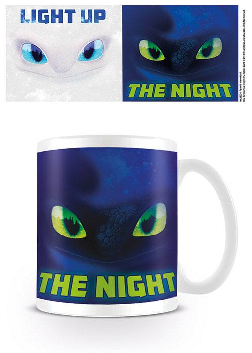 How to Train Your Dragon 3 The Hidden World Mug Light Up The Night