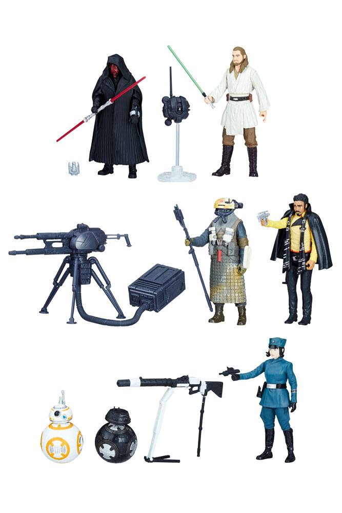 Star Wars Force Link 2.0 Action Figures 10 cm 2-Packs 2018 Wave 1 Assortment (8)