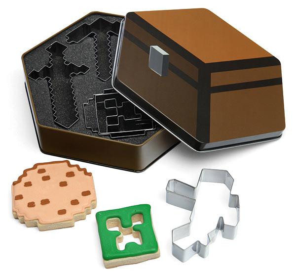 Minecraft Cookie Cutter 5-Pack