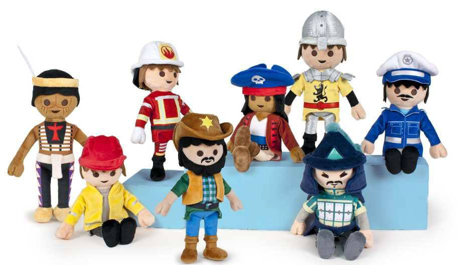 Playmobil Plush Figures 30 cm Display (8)