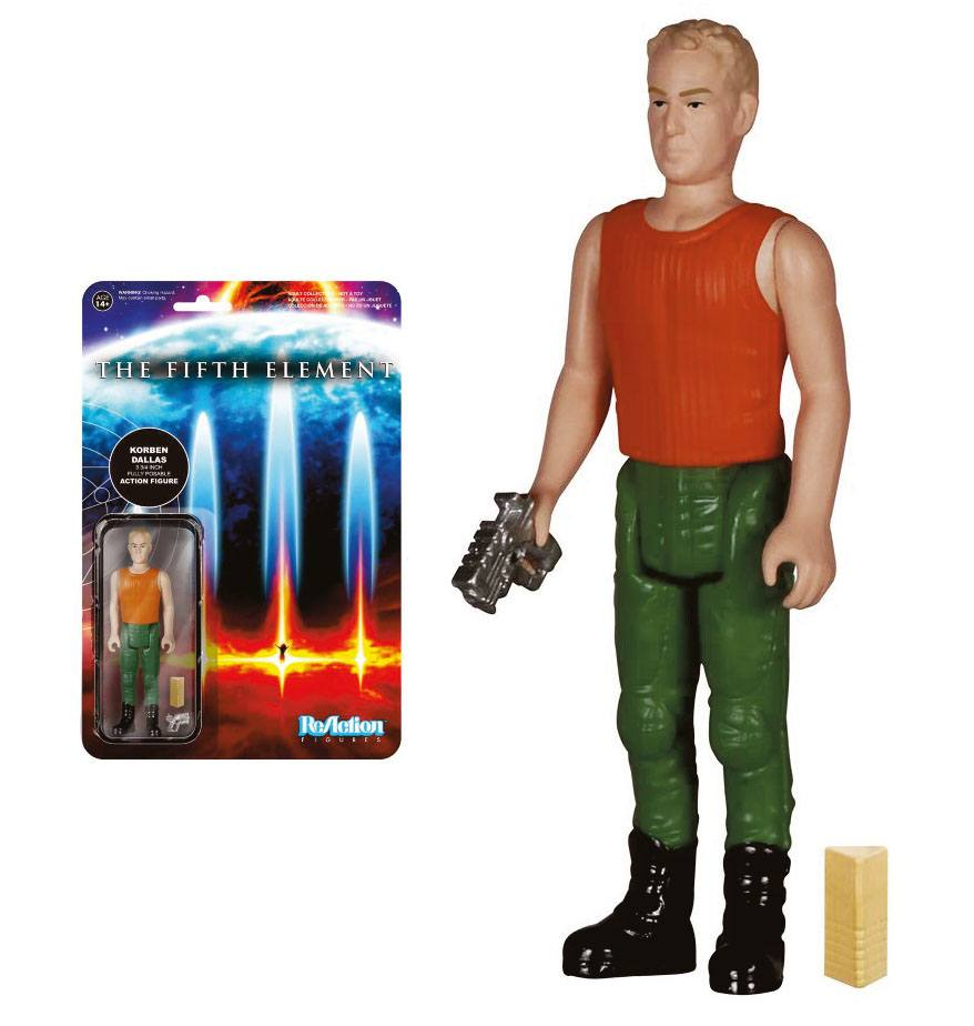Fifth Element ReAction Action Figure Korben Dallas 10 cm