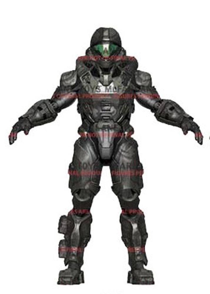 Halo 5 Guardians Series 2 Action Figure Spartan Buck 15 cm