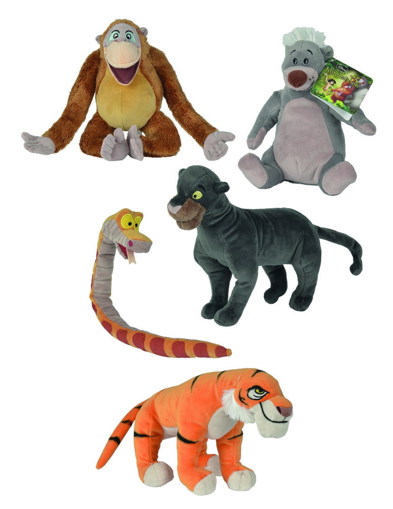 The Jungle Book 2016 Plush Figure Assortment Characters 20 cm (12)
