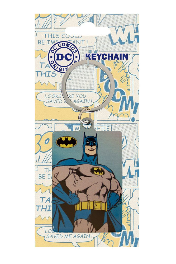 DC Comics Metal Keychain Batman 6 cm