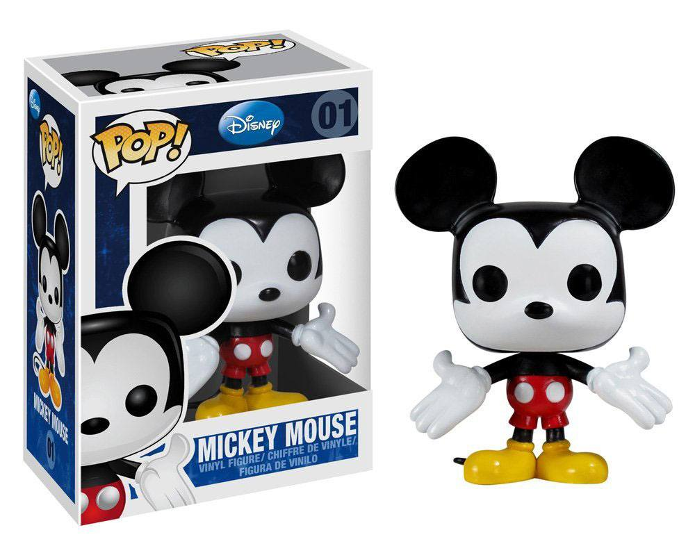 Disney POP! Vinyl Figure Mickey Mouse 9 cm