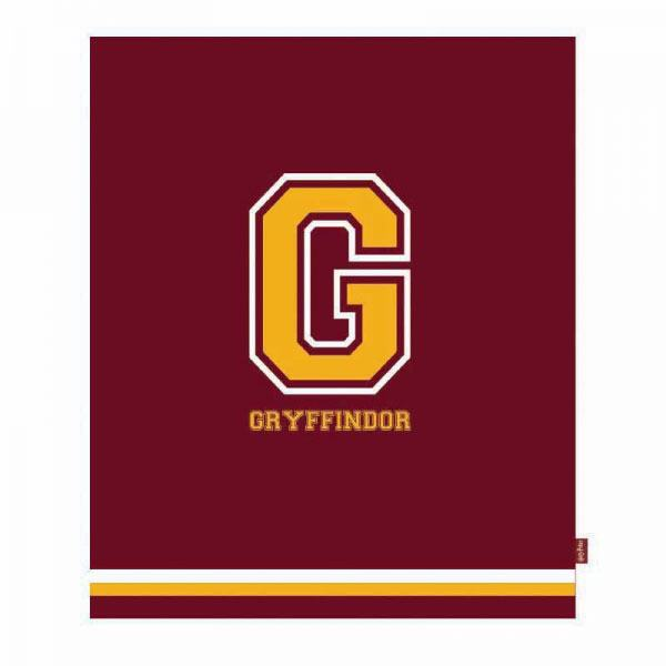 Harry Potter Throw G for Gryffindor 125 x 150 cm