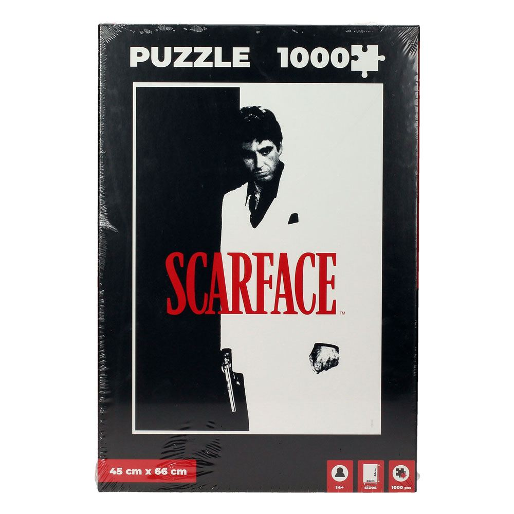 Scarface Jigsaw Puzzle Poster (1000 pieces)