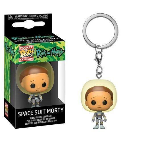 Rick & Morty Pocket POP! Vinyl Keychain Space Suit Morty 4 cm