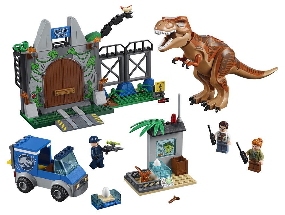 LEGO® Juniors Jurassic World™ - T. Rex Breakout --- DAMAGED PACKAGING