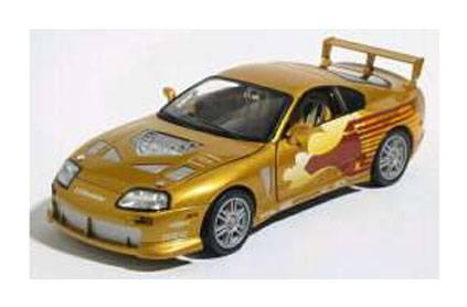 Fast & Furious Diecast Model 1/24 1995 Toyota Supra Slap Jack