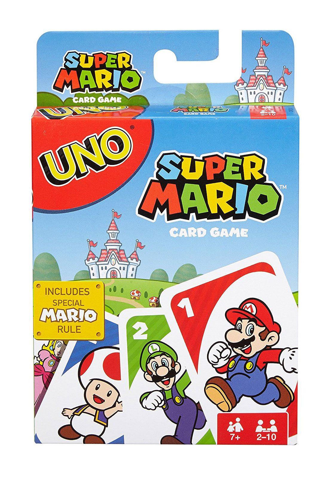 Super Mario Bros. UNO Card Game *English Version*