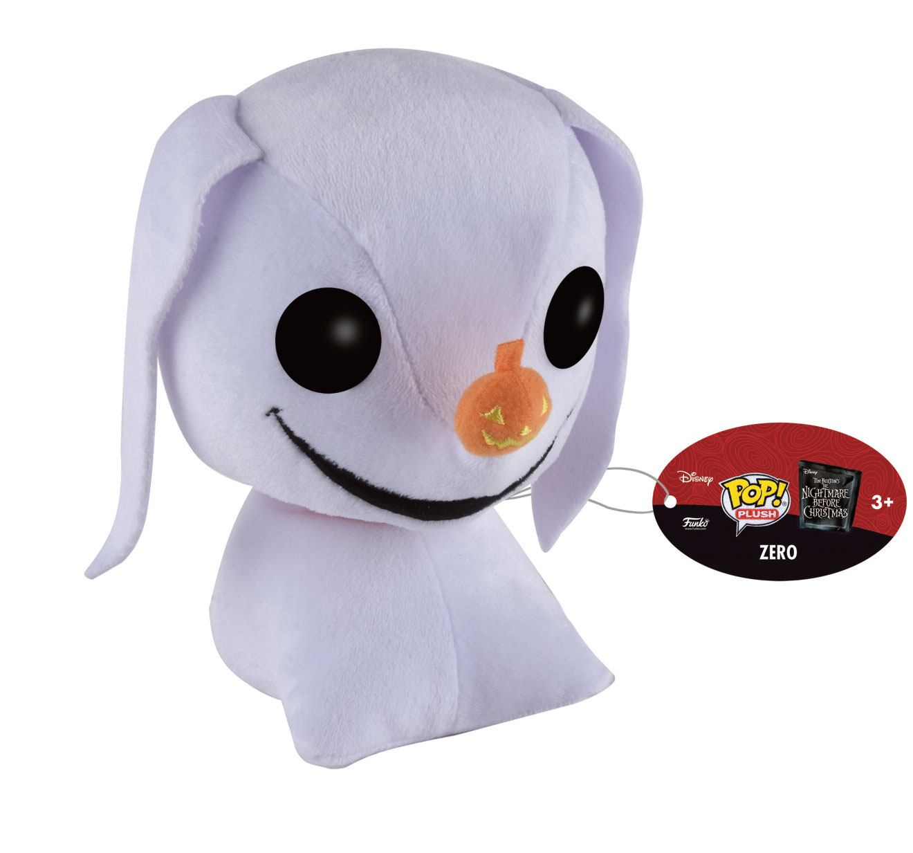 Nightmare Before Christmas POP! Plush Figure Zero 15 cm
