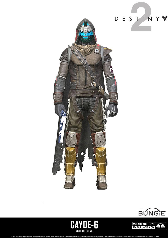 Destiny 2 Action Figure Cayde 6 18 cm