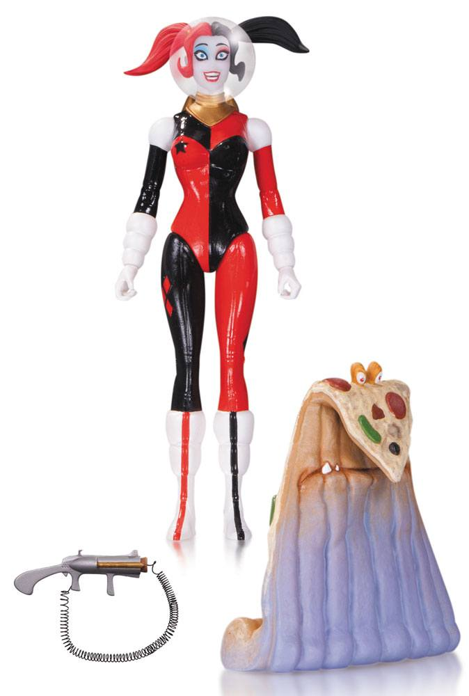 DC Comics Designer Action Figure Spacesuit Harley Quinn by Amanda Conner 17 cm --- DAMAGED PACKAGING