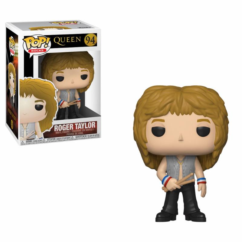 Queen POP! Rocks Vinyl Figure Roger Taylor 9 cm