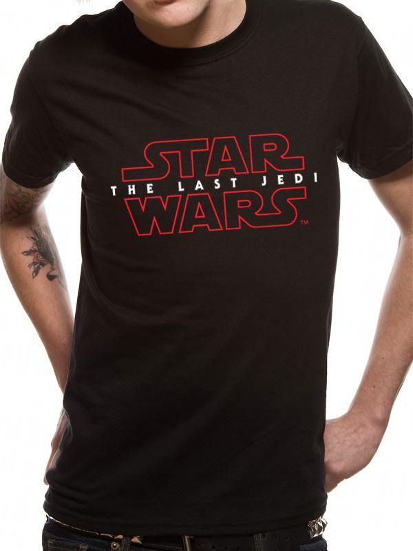 Star Wars Episode VIII T-Shirt Logo Size S