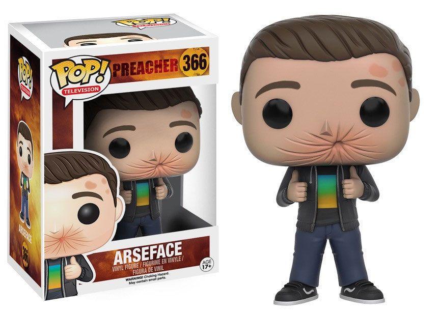 Preacher POP! Television Vinyl Figure Arseface 9 cm