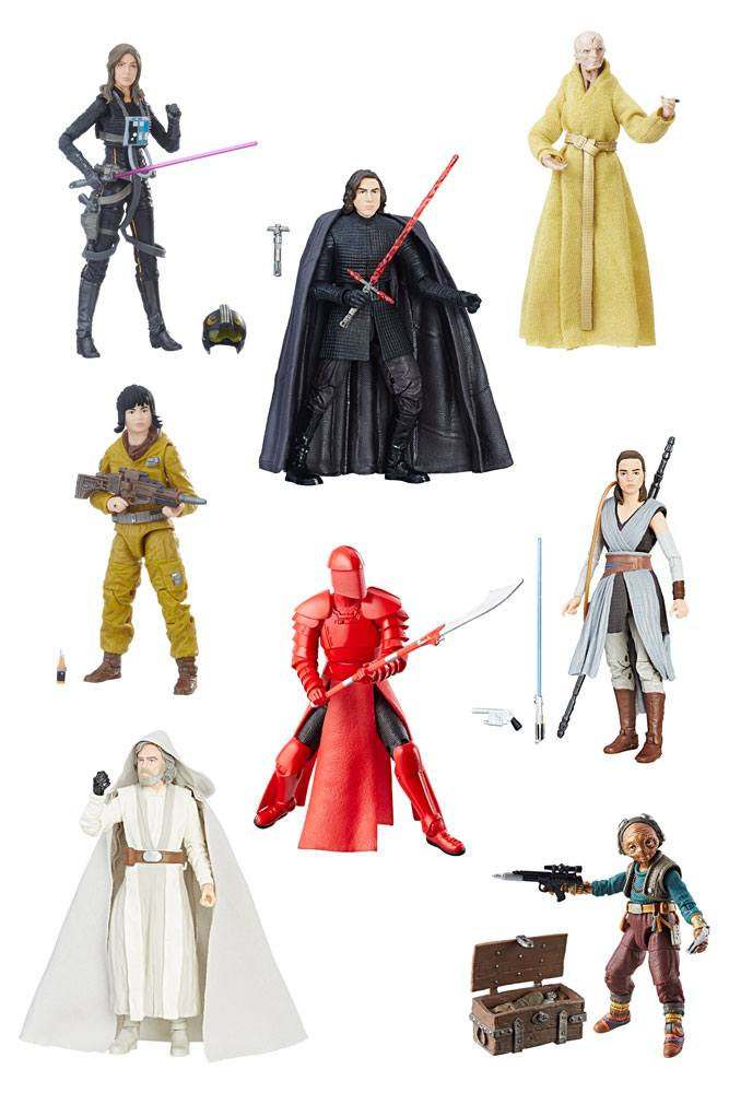 Star Wars Black Series Action Figures 15 cm 2017 Wave 5 Assortment (8) --- DAMAGED PACKAGING