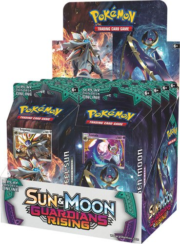 Pokemon Sun and Moon 2 Guardians Rising Theme Deck Display (8) *English Version*